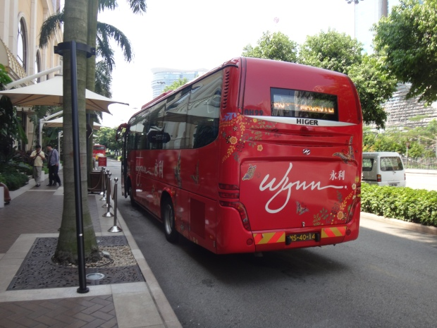 My go to Casino Bus - Wynn Macau Shuttle Bus! ;)