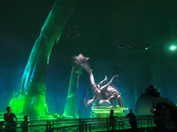 City of Dreams Dragon Show! Amazing Effects and Experience!