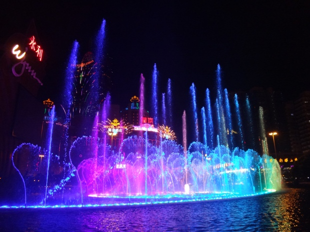 Fountain Show at Wynn Macau