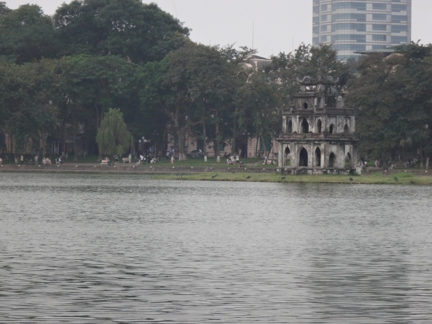 Turtle Tower at Hoan Kiem Sword Lake