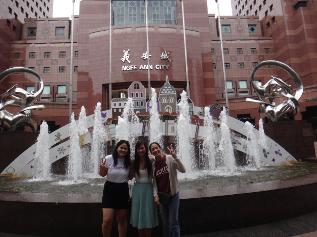 Orchard Road Fountain