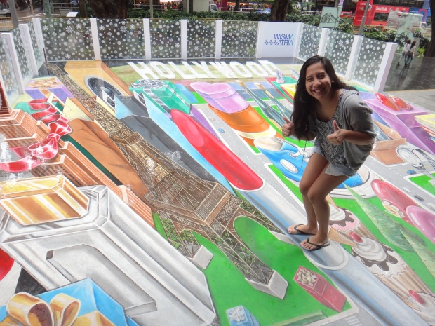 Street Art at Orchard Road