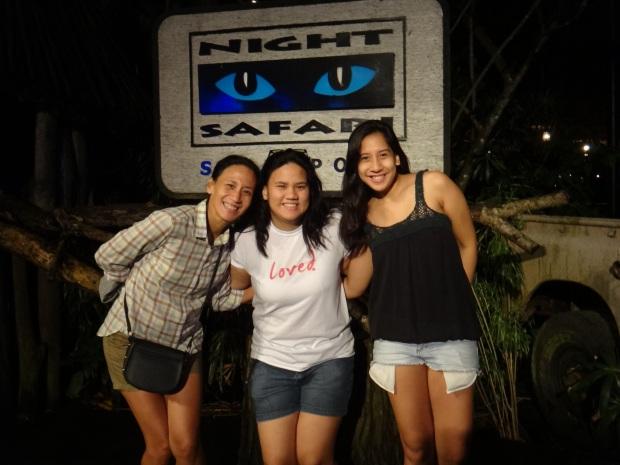 Night Safari with Mom and Ina