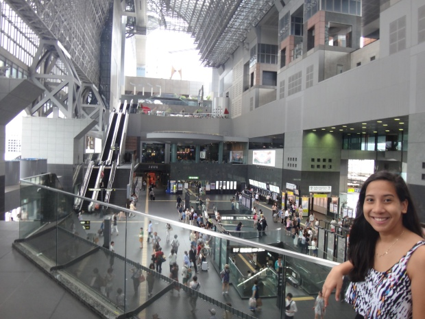 At Kyoto Station