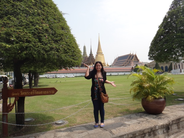 At the Grand Palace. Photo taken by a hot German guy ;)