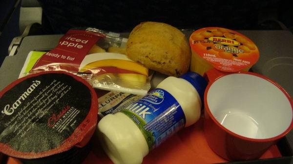 Qantas Breakfast!