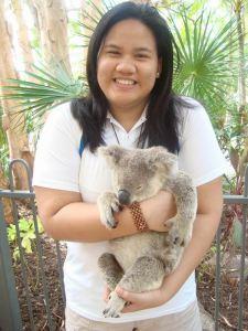 Me with my Koala