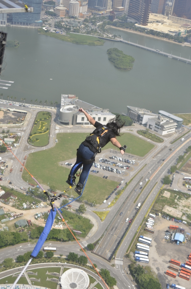 What's happening? Oh I just jumped off at 60+ floor high building!