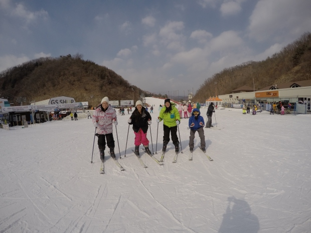 Skiing at Elysian Resort