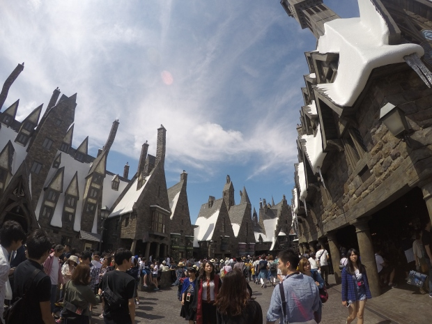Hogsmeade at Harry Potter World USJ