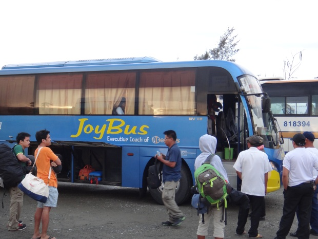 Baler, we have arrived! Thank you JoyBus!