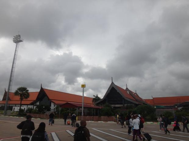 Outside Siem Reap International Airport