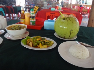 Food from Motorbike Tour