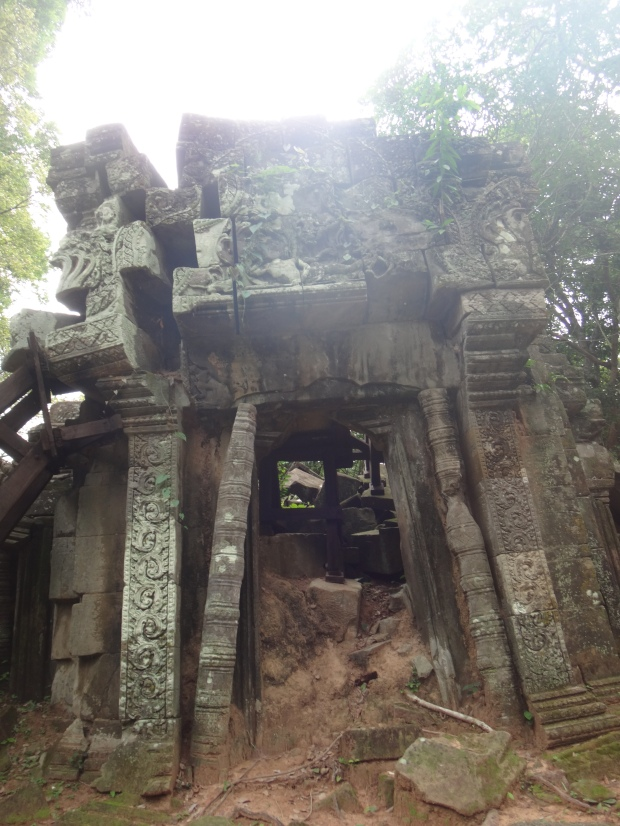 Temple at Chau Srei Vibol