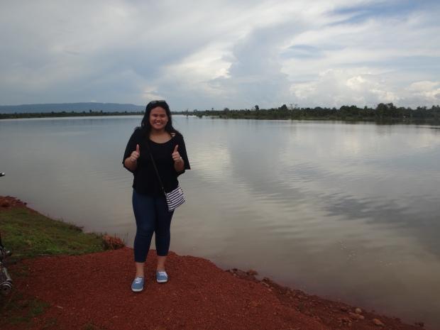 At the Eco Lake