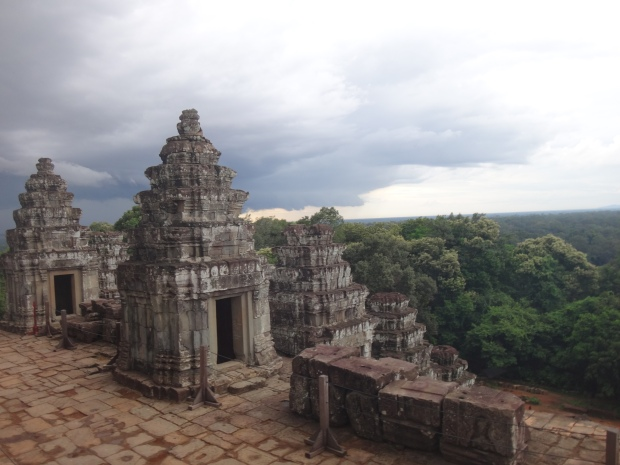 View at Bakheng Mountain