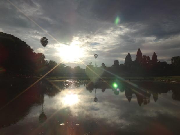 Sunrise View at Angkor Wat