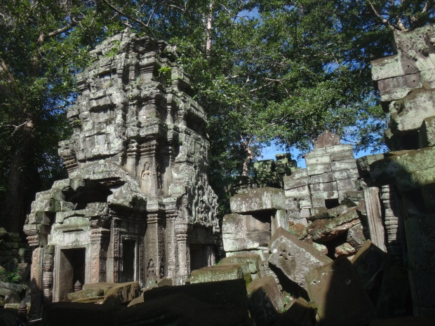 Temples at Ta Prohm