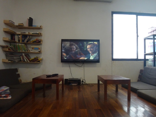 TV Common Room at One Stop Hostel