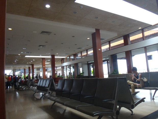 Pre departure Area at Siem Reap International Airport