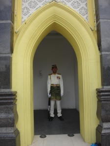 Guard at the Royal Palace