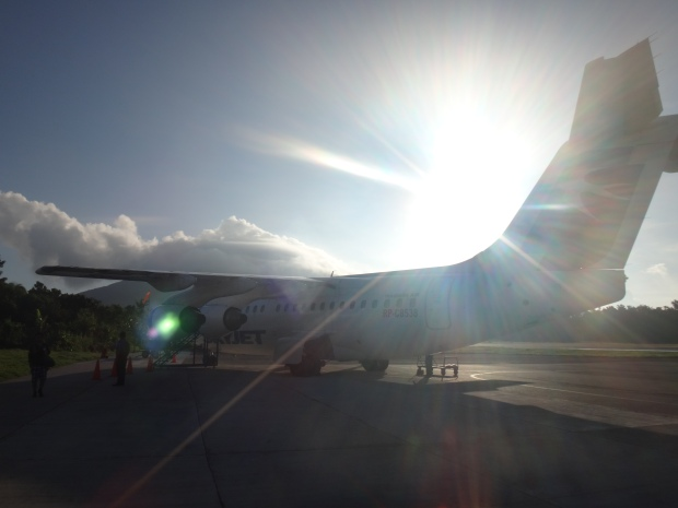 Arrival in Batanes through SKYJET!