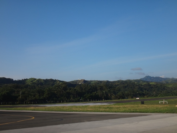 Runway View at Basco Airport
