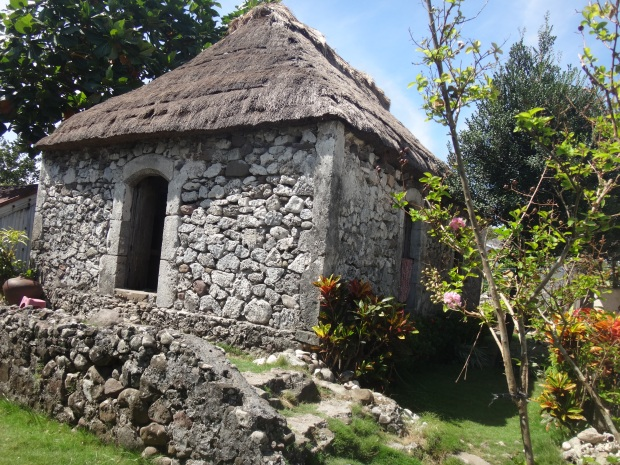 A stone house in Batan Island