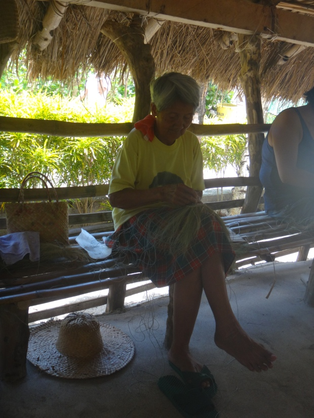 Sabtang Weavers at Brgy Chavayan