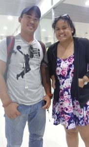With Sir Ryan at NAIA 4!