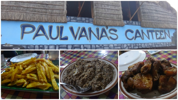 Lunch at Paulvana's Canteen