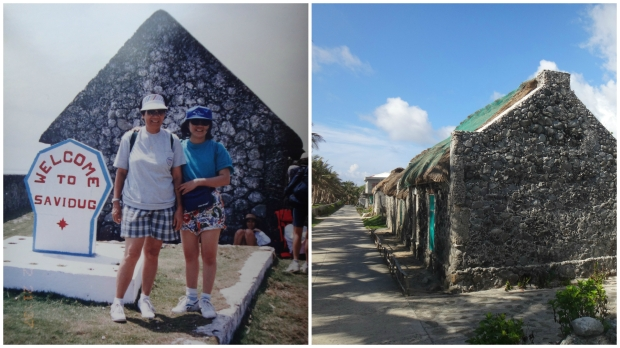 Savidug Stone Houses. 1995 & 2015 shot.