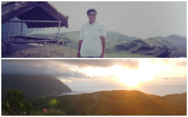 View at the PAGASA Radar Station. 1995 & 2015 shot.