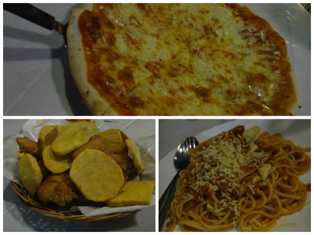 Pizza, Chicken & Spaghetti at Casa Napoli