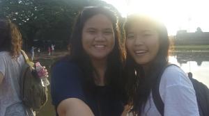 Joy & I at Angkor Wat