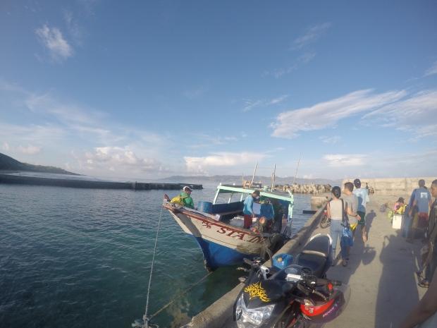 Port at Batan Island