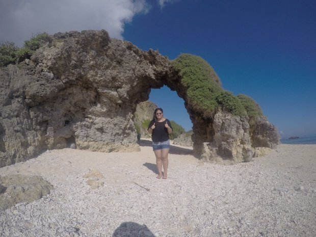 Limestone Arc at Morong Beach