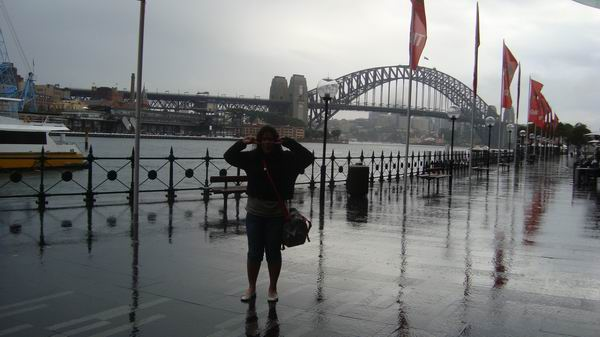 At Sydney Harbour Bridge