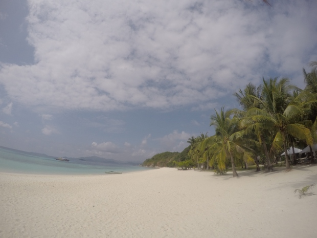 At Malcapuya Island