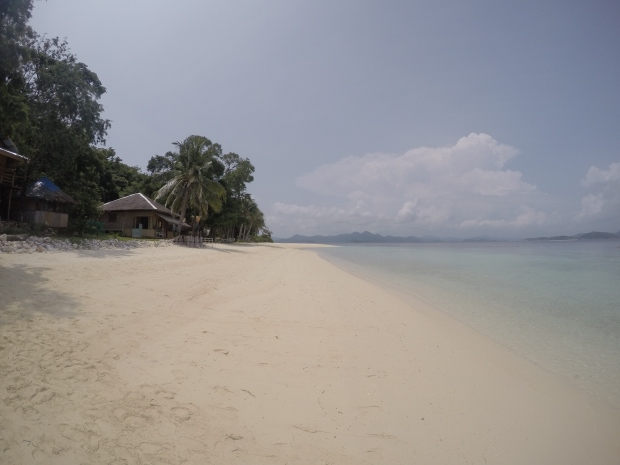White Sand Stretch at Banana Island