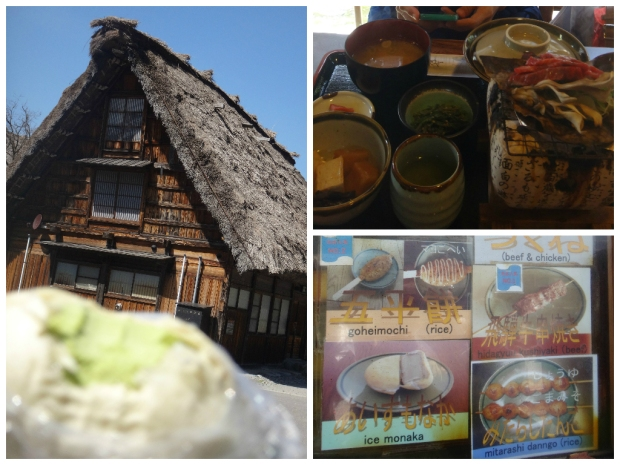Food in Shirakawago