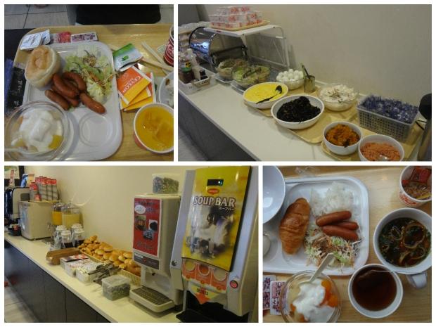 Meitetsu Inn Nagoya Breakfast