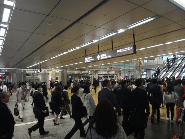 Traffic at Nagoya Station