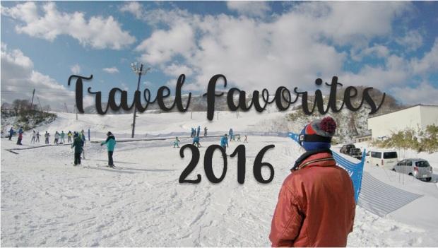 Travel Favorites 2016