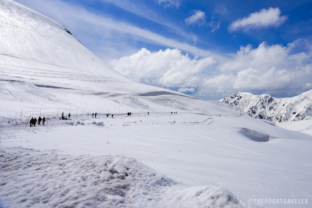 Alpine Route - Murodō Plain (Photo from Vins Carlos of The Poor Traveler)