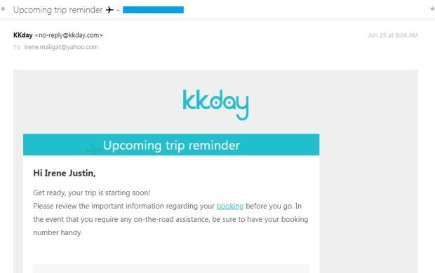 KKday Web 4